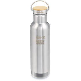 Klean Kanteen Reflect Vacuum Insulated Bottle Bamboo Cap 592ml silver
